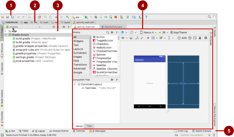 1 1: Your first Android app · GitBook