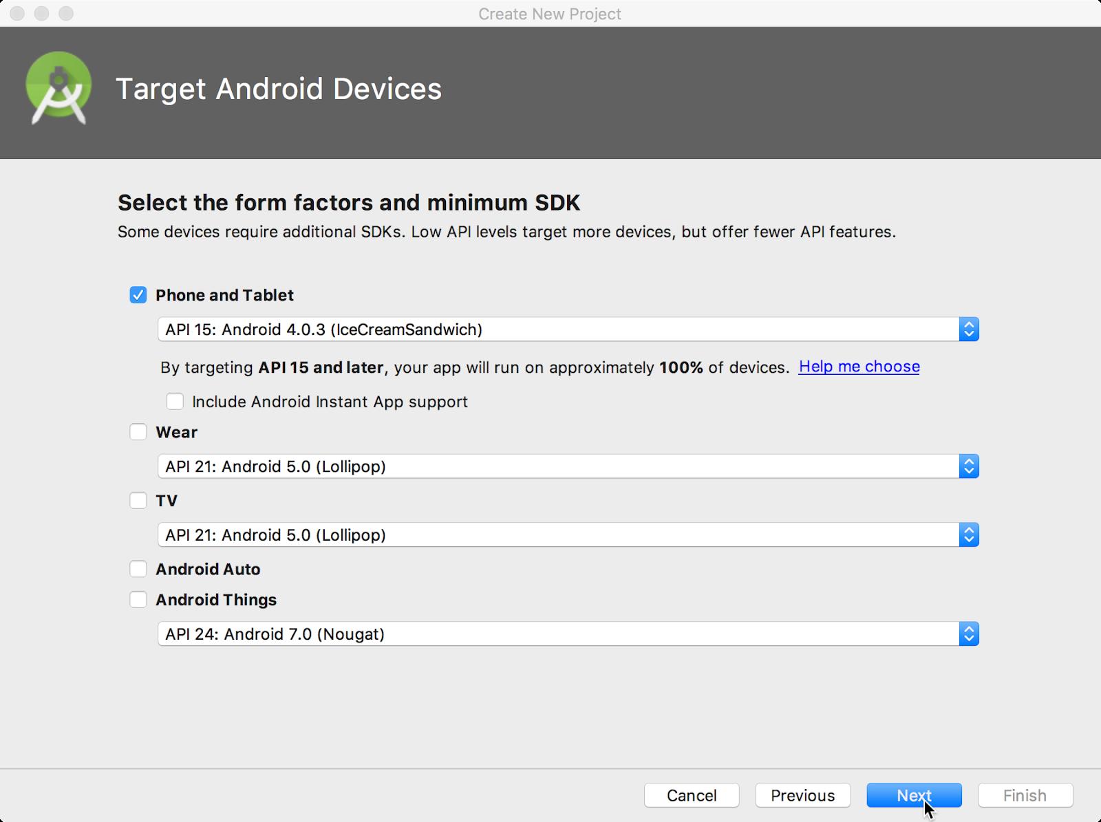 android studio minimum requirements