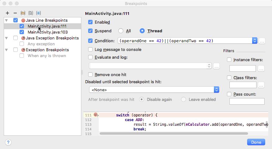 3 1: The Android Studio debugger · GitBook