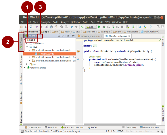1 1: Install Android Studio and Run Hello World · GitBook
