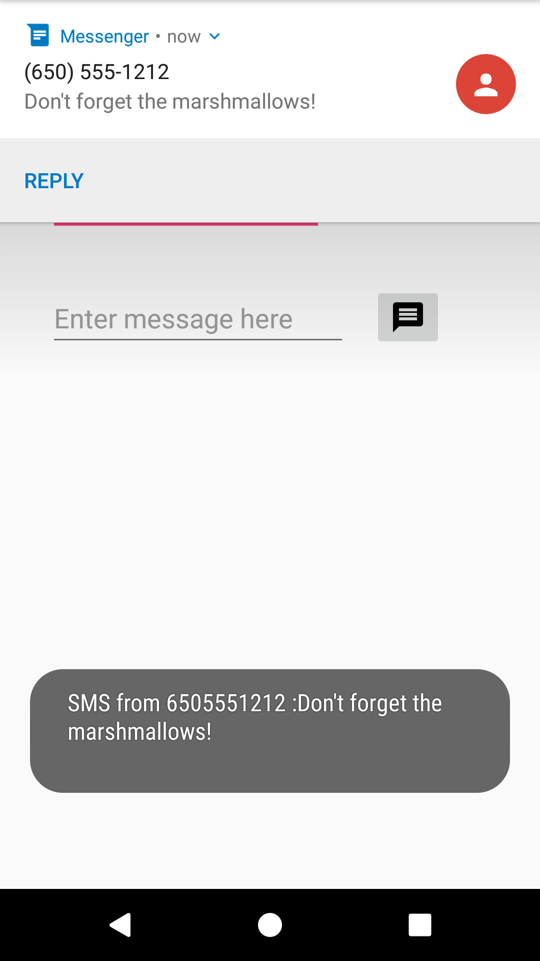 2 2: Sending and Receiving SMS Messages - Part 2 · GitBook